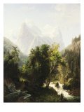 Path Through the Mountains, 1858 Giclee Print by William Trost Richards