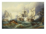 The Battle of Trafalgar Posters by Philip James De Loutherbourg