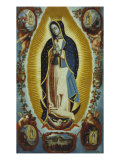 La Virgen de Guadalupe Giclee Print by Matheo Montes De Oca