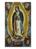 La Virgen de Guadalupe Giclee Print by Matheo Montes De Oca