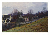 Autumn in Louveciennes. Automne a Louveciennes, 1873 Posters by Alfred Sisley