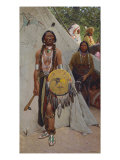 Indians, 1890 Giclee Print by Henry F. Farny
