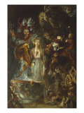 Fantasy Based on Goethe's Faust, 1834 Giclee Print by Theodor M. Von Holst