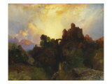 Caledonia, Stern and Wild, 1919 Giclee Print by Thomas Moran