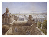 View of Mexico City, 1889 Reproduction proc&#233;d&#233; gicl&#233;e par Peter Petersen Toft