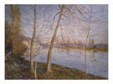 Winter Morning - Veneux. Matin D'Hiver - Veneux, 1878 Posters by Alfred Sisley