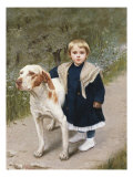 Faithful Friend, 19th Century Giclee Print by Luigi Toro