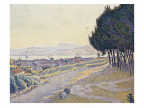 Pinewood, St. Tropez, Bois de Pins-St Tropez Prints by Paul Signac