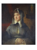 Portrait of a Lady, Thought to Be Emily St. Clare, 18th Century Giclee Print by George Romney