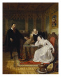 John Knox Admonishing Mary Queen of Scots, 1829 Giclee Print by Sir William Allan