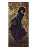 Octobre Reproduction procédé giclée par James Tissot