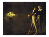 The Three Witches Appearing to Macbeth and Banquo, 1800-1810 Print by Henry Fuseli