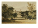Greenwich Hospital from the Park, 1830 Giclee Print by Thomas Shotter Boys
