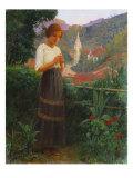 Petropolis Landscape, Paisagem de Petropolis, 1916 Giclee Print by Joao Baptista Da Costa