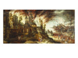The Destruction of Sodom and Gomorrah Prints by Kerstiaen De Keuninck