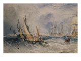 Gosport, the Entrance to Portsmouth Harbour, c.1829 Giclee Print