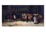 The Royal Edict, 1871 Giclee Print by Charles Edouard Delort