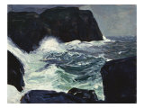 Blackhead and Sea Poster by George Wesley Bellows