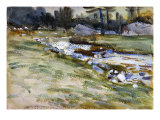 The Brook Giclee Print by John Singer Sargent