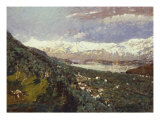 North Country, 1923 Giclee Print by Willard Leroy Metcalf