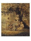 The Picnic, La Collation, 1772 Giclee Print by Sylvester Harding