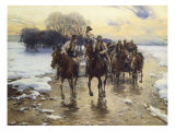 The Wedding Party Giclee Print by Alfred von Wierusz-Kowalski