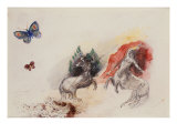 Battle of the Centaurs, Lutte Des Centaures Prints by Odilon Redon
