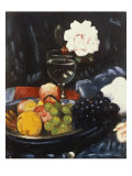 The Fruit Bowl Giclee Print by George Leslie Hunter