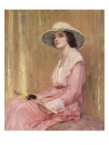 The Model Giclee Print by Guy Rose