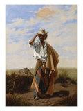 The Cowboy, El Gaucho, 19th Century Giclee Print by Juan Manuel Blanes