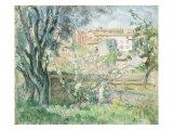 The Artist's Garden in Cannet, Le Jardin de L'Artiste au Cannet, 1931 Giclee Print by Henri Lebasque