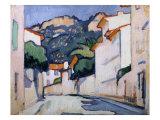 Streetscene, Cassis, c.1913 Art by Samuel John Peploe