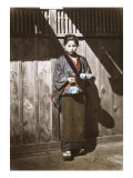 Sake Seller, Japan, c.1868 Art by Felice Beato
