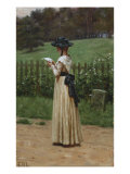The Love Letter, 19th Century Giclee Print by Edmund Blair Leighton