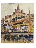Marseilles Art by George Leslie Hunter