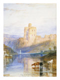Norham Castle: an Illustration to Sir Walter Scott's Marmion, 1818 Giclee Print by J. M. W. Turner