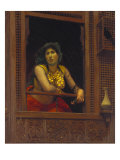 The Exotic Dancing Girl, Une Almee Giclee Print by Jean Leon Gerome