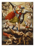 St Michael the Archangel. Cuzco School, 17th Cent, c.1675 Giclee Print by Diego Quispe Tito