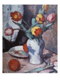 Tulips, c.1928 Prints by Samuel John Peploe