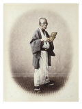 Clerk, Japan, c.1868 Prints by Felice Beato