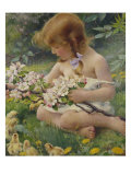 Spring. Circular, 1917 Giclee Print by Franz Dvorak