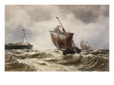 Off Calais Giclee Print by Thomas Hardy