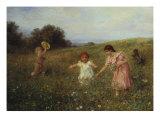 Springtime Giclee Print by Ludwig Knaus
