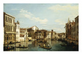 The Grand Canal, Venice, Looking Southwest from a Point Near the Rialto Bridge Prints by Bernardo Bellotto