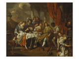 Banquet on a Terrace Reproduction procédé giclée par Jacob Toorenvliet