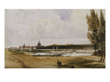 On the Seine, 1831 Posters by Thomas Shotter Boys