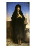 Young Arab Working Girl, Full Length, Jeune Fille Fellah, 1876 Giclee Print by William Adolphe Bouguereau