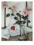 Queen Elizabeth Roses, Samuel John Peploe, c.1918 Prints by Samuel John Peploe