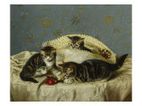 Up to Mischief, 19th Century Giclee Print by Horatio Henry Couldery