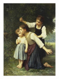 In the Wood, Dans Le Bois Giclee Print by Elizabeth Bouguereau